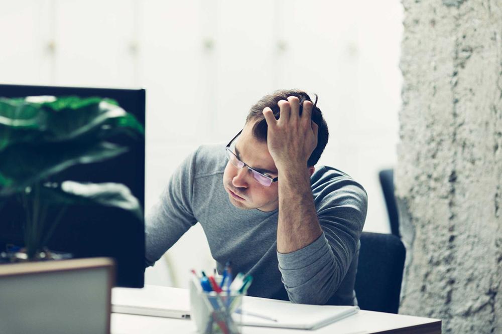Stress, áp lực công việc có thể gây rối loạn giấc ngủ